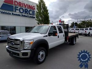 2014 Ford Super Duty F-550 XLT w/ Dual Rear Wheels, 16,096 KMs