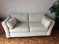 Must collect this weekend cream marks and Spencer's 2 seater sofa