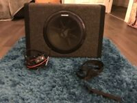 Kicker Pt250 Bassstation 10'' Active Subwoofer
