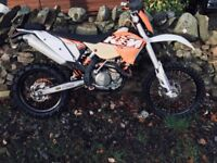 KTM 450 EXC 2010 60 Plate Enduro Bike