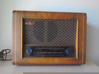Original vintage PYE radio