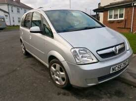 2007 Vauxhall meriva 1.6 full mot full history 75k