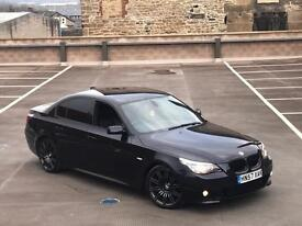 2007 57 BMW 530D M SPORT AUTO + SPORT GEARBOX + PADDLE SHIFT + XENONS + LEATHER + NAV NOT 535D
