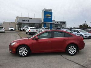 2011 Chevrolet Cruze 1LT 4DR, LOADED, ST.CTRLS, LOCAL TRADE!!!