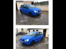 Sept 2002 VW Polo 1.2 Blue