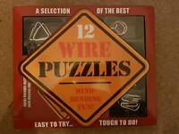 Great Gift 12 Wire Puzzles RRP 15