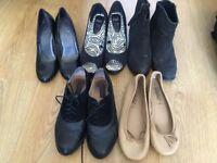 Various Womans Shoes