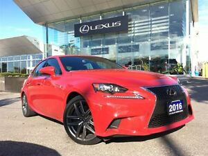 2016 Lexus IS 350 1 Owner Nav Lthr Sroof Btooth