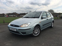 FORD FOCUS 1.8 TDCI 2003 IN EXCELLENT CONDITION 5 DOOR 5 SPEED