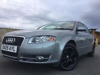 2005 AUDI A4 2.0 TDI LOW MILES WITH GLOSS BLACK ALLOYS