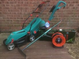 Lawnmower + FREE!!!!!! Trimmer and many more