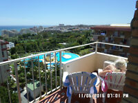 MINERVA APARTMENT, Benalmadena. Brilliant apartment, large 7th floor balcony. Winter let or weekly.