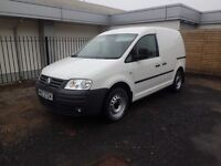 2009 Volkswagen Caddy 1.9 Tdi S with only 56500 miles NO VAT Automatic