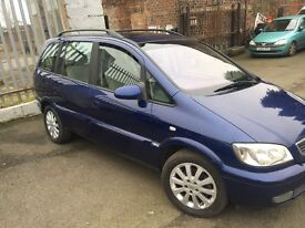 VAUXHALL ZAFIRA 2004 MOT FULL YEAR MOT 7 SEATER EXCELLENT CONDITIONS