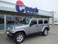 2014 Jeep Wrangler Unlimited Sahara, 13,421 KMs, Seats 5 People