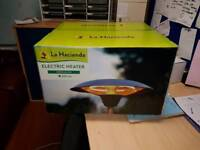 **brand new in box patio heater**