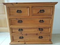 Mexican Pine Chest of Drawers & Cabinets