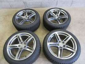 -- BRAND NEW AUDI A5 18 INCH ALLOYS + WINTER TYRES ---
