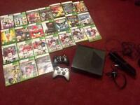Xbox 360 250GB All in A Set (24 Games, 2 Controlers)