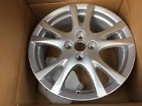 Brand new boxed Mazda 2 Alloy wheel ( 4 stud )