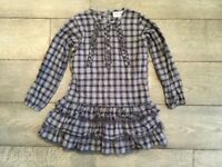 "Beautiful ""Minature"" Copenhagen checked dress. Age 7. Was £46- selling for £7"