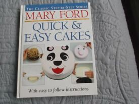 Two cake-decorating books by Mary Ford