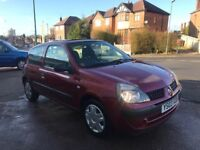 RENAULT CLIO EXPRESSION 1100CC LOW MILES AT 62K FROM NEW