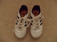 Adidas Junior football boots size 11