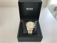 Hugo Boss Men's Two Tone Chronograph Watch