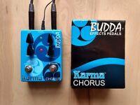 Budda Karma Chorus and Vibrato Pedal