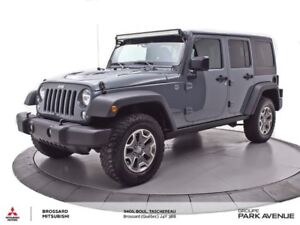 2015 Jeep WRANGLER UNLIMITED RUBICON UNLIMITED TOIT RIGIDE+NAVI+
