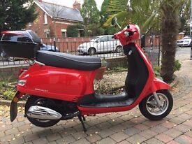 2016 AJS Sorvio 125 scooter spotless must be seen low miles 340 only £999
