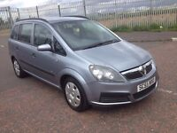 2006 Vauxhall zafira 1.6 , mot - March 2017 , only 82,000 miles , galaxy,focus.astras