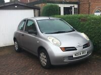 Nissan Micra 1.2S 2004 , Only 86,606 miles , Good Condition for year