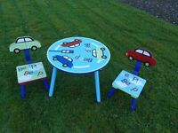 Childs Table And 2 Chairs Real Cool