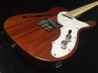 Fender Squier Classic Vibe Thinline Telecaster. Semi-Hollow Body. Natural.
