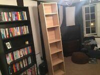 IKEA pine single bookcase
