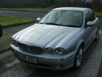Jaguar x type diesel se 2008, 48,000 miles fsh, manual £3,995