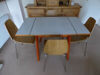 Living / Kitchen Room Vintage Extendable Table 126x78