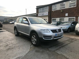 VW Touareg, 2.5 diesel, automatic, new MOT and only one owner from new Bargain
