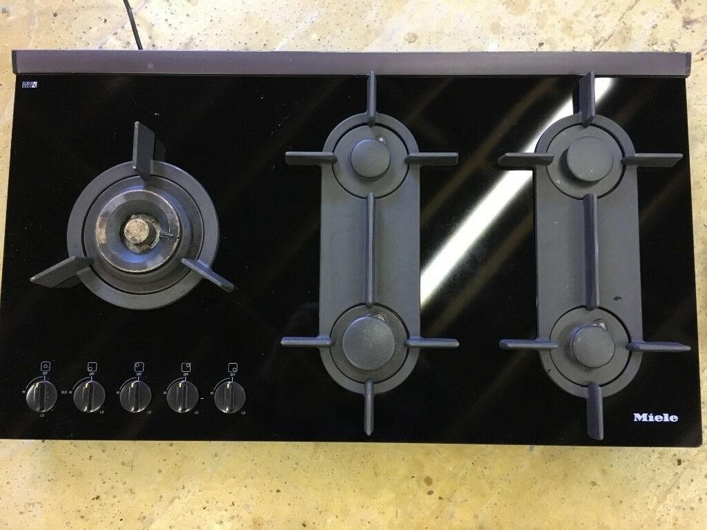 Appliances Miele Km 325g Gas Plate Five Burner Hob Used But In Very Good Condition