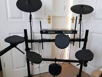 Electric Drum Kit With Stool