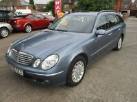 2006 06 MERCEDES E280 3.0 CDI ELEGANCE AUTO ESTATE 7 SEATER SAT NAV DVD PLAYER LEATHER PX SWAPS