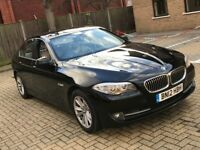 2012 BMW 520D 5 SERIES 2.0 DIESEL MANUAL EFFICIENT DYNAMICS SALOON 5 SEAT DRIVE LIKE NEW N X5 3 C220