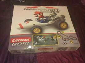 Mario bros car racing set