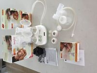 Ameda Lactaline Personal Dual Electric Breast Pump - With Extras