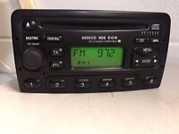 FORD RDS 6000 CD PLAYER EXCELLENT CONDITION WITH CODE