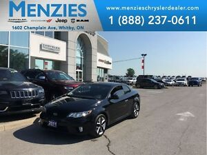 2011 Kia FORTE KOUP SX Bluetooth, Sunroof, Leather, Clean Carpro