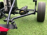 Powakaddy digital electric golf trolley inc 36 hole battery