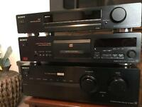 Sony Amplifier, CD Player, Fm/am tuner